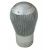 00109 CARBON-TECH RACE-2_GEAR SHIFT KNOB_SILVER