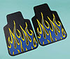 24283 FIRE & FURIOUS:SET 2 UNIVERSAL FRONT MATS_BLUE
