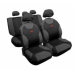 54808 DRIVE JEANS:CAR SEAT COVER SET_ANTHRACITE