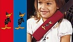 66351 PAIR OF SAFETY BELT COMFORTERS_DAFFY DUCK